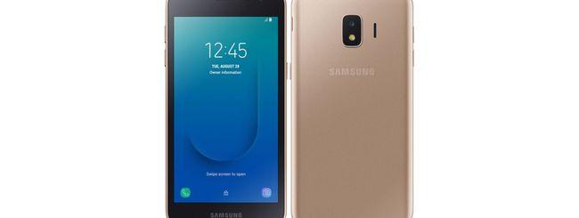 Galaxy J2 Core, primo Samsung con Android Go