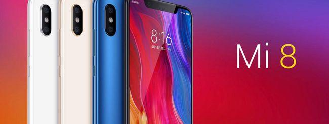 Xiaomi Mi 8, vendute oltre un milione di unità