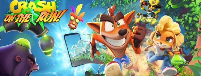 Crash Bandicoot sta per sbarcare su Android e iOS