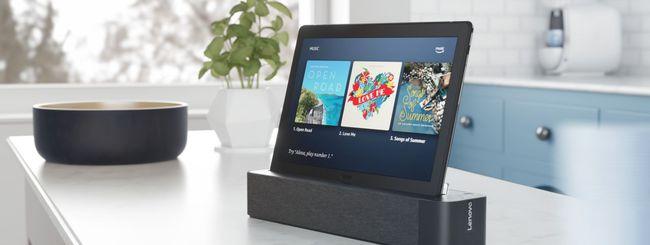 CES 2019: Lenovo Smart Tab M10 e P10 con Alexa