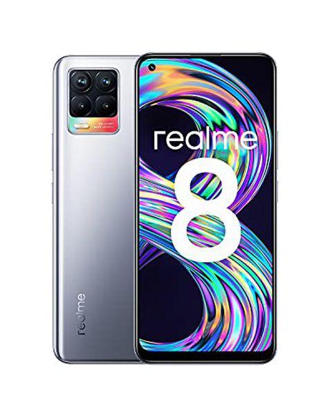realme 8 EU Cyber Silver 4GB+64GB