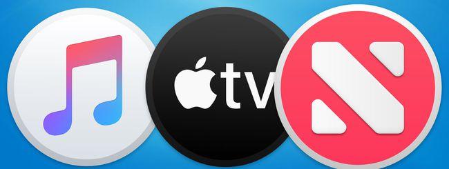 Apple One:  L'abbonamento unico per TV+, News+ e Apple Music