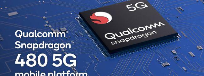 Snapdragon 480, il processore 5G entry-level di Qualcomm