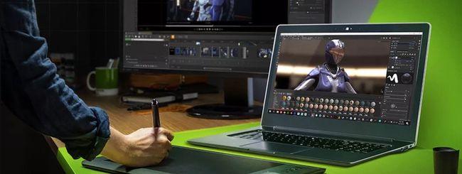 Nvidia presenta i nuovi RTX Studio