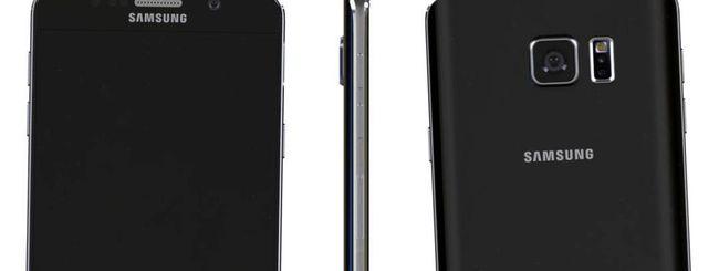 Samsung Galaxy Note 5, prime immagini del phablet