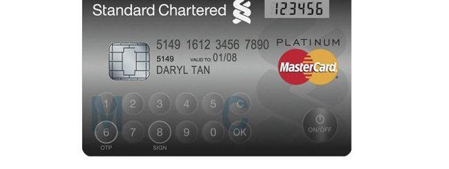 Mastercard, una carta con tastiera e display