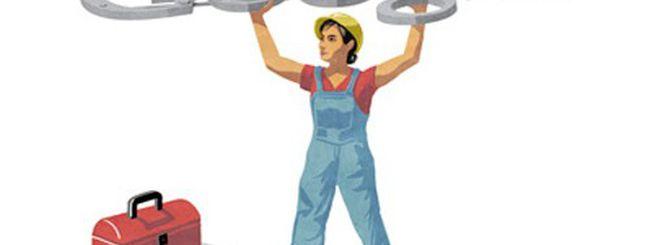 Primo maggio, doodle per la Festa dei Lavoratori