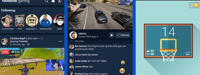 Facebook Giochi diventa un'app per Android e iOS