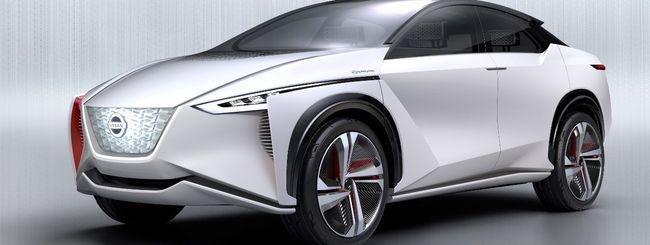 Nissan IMx, il futuro dell'auto elettrica