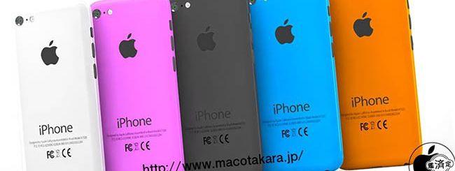 iPhone low cost: i 5 colori ufficiali