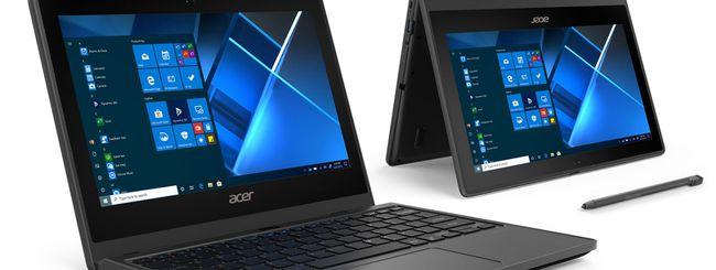 Acer annuncia TravelMate B3 e Chromebook 712