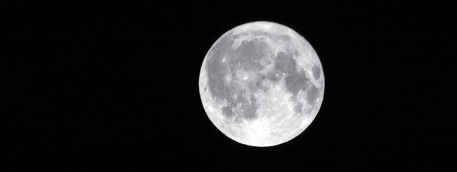 Scoperta una enorme grotta sulla Luna