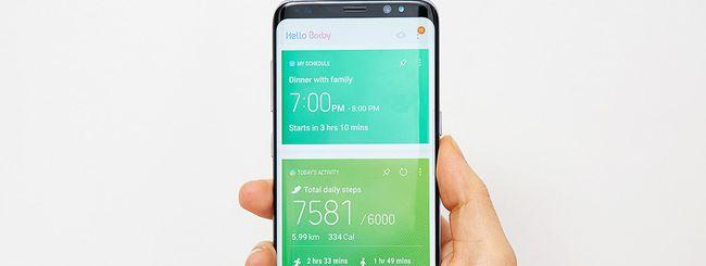 Samsung Galaxy S8, Google Now sostituisce Bixby