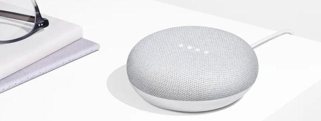 Google Home: anche Mini, anche in Italia