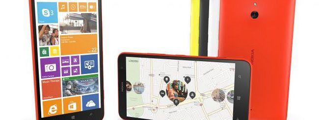 Nokia Lumia 1320, il phablet economico