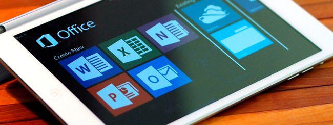 Office è gratis su iPhone, iPad e Android