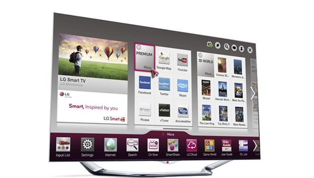 LG Smart TV Cinema 3D 55LA860V