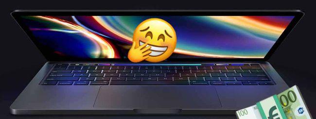 MacBook Pro 13″: Apple raddoppia il prezzo della RAM aggiuntiva