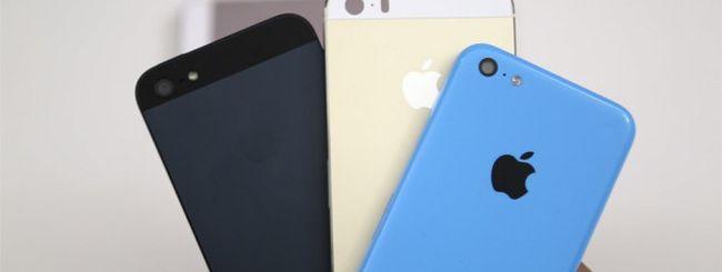 iPhone 5S oro e iPhone 5C: il video di confronto