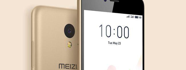 Meizu M5c, smartphone economico con Android Nougat