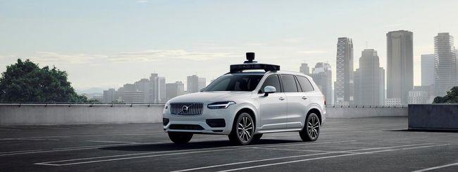 Volvo e Uber, pronta prima auto a guida autonoma