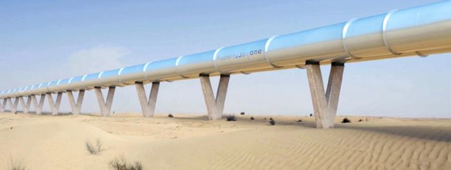 Hyperloop One: il treno da 1.100 Km/h a Dubai