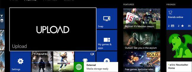 Microsoft porta il servizio Upload su Xbox 360