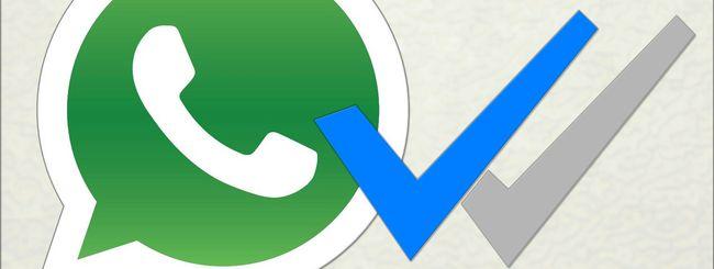 WhatsApp: come aggirare la doppia spunta blu