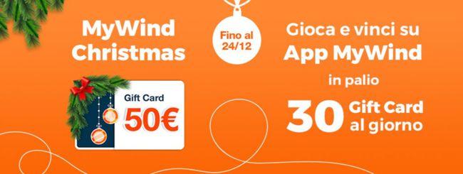 MyWind Christmas: Gift Card da 50 euro in regalo