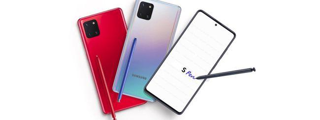 Samsung Galaxy Note 10 Lite e S10 Lite al CES 2020?