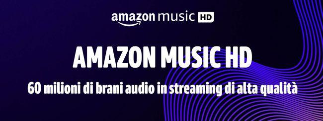 Amazon Music HD arriva in Italia: 3 mesi di prova gratis