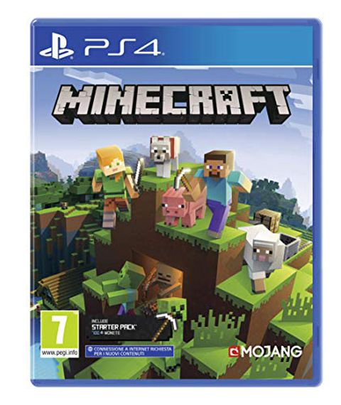 Minecraft + Starter Pack Edition - PlayStation 4