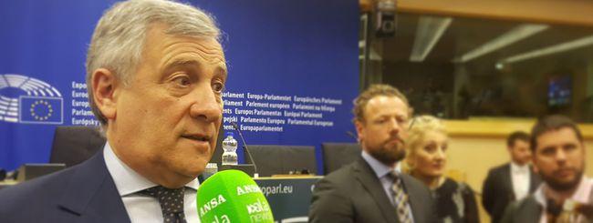 Tajani, l'Europa limiti il potere di Google
