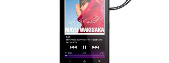 Sony Walkman F800, lettore multimediale Android 4.0