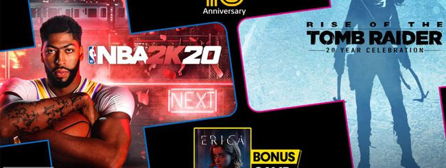 PS Plus, i giochi gratis di luglio 2020