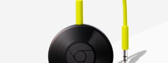 Google Chromecast Audio, addio