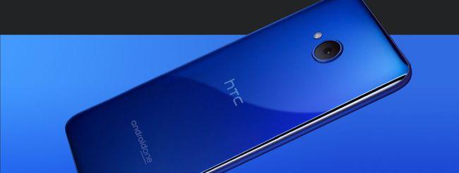HTC U11 life aggiornato ad Android 9 Pie