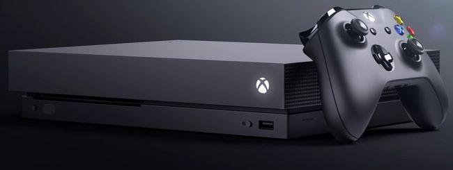 Xbox One X ufficiale, il 7 novembre a 499 dollari