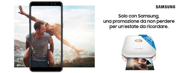 Samsung, stampante in regalo con i Galaxy A e J
