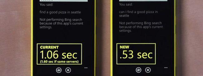 Windows Phone 8, riconoscimento vocale più veloce