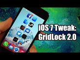 iOS 7 Jailbreak Tweak - GridLock 2.0