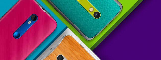 Motorola annuncia due Moto X e il Moto G (2015)