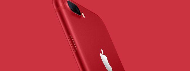 Apple lancia iPhone 7 rosso e un nuovo iPad 9.7