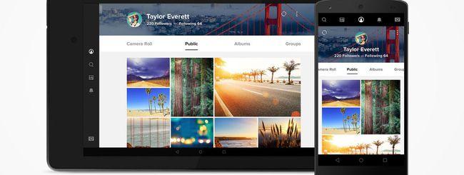 Flickr aggiorna le app per iOS e Android