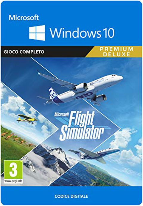 Microsoft Flight Simulator Premium Deluxe Edition (Codice per PC)