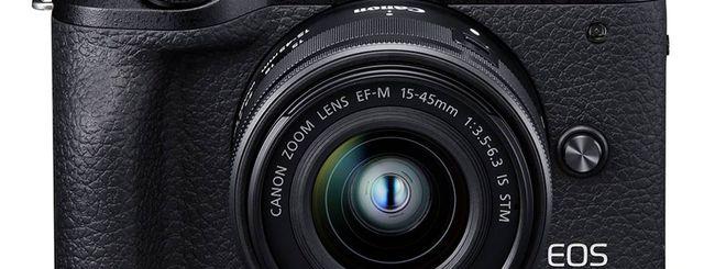 Canon porta le APSC su un altro livello: annunciate EOS 90D ed M6 Mark II