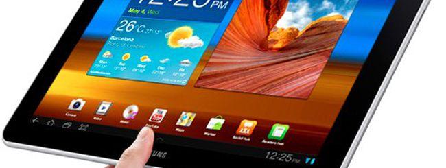 Galaxy Tab 10.1 torna in Europa, ma non in Germania