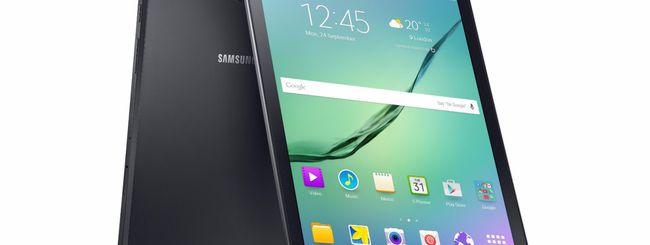 Samsung, doppi vantaggi con Galaxy Tab S2