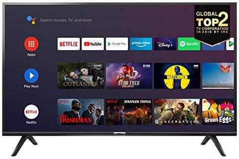 Smart TV, Android TV: Risoluzione HDR, Assistente Google integrato, Dolby Audio per suoni chiari e dinamici