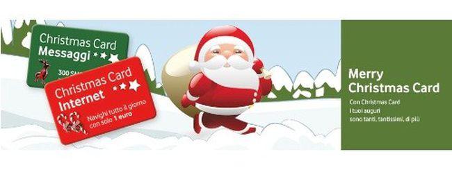 La nuova Christmas Card 2011 di Vodafone